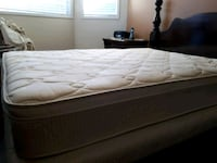 DELUX 9 Inches Thick Queen Mattress and Box Spring Brampton, L6X 4R6