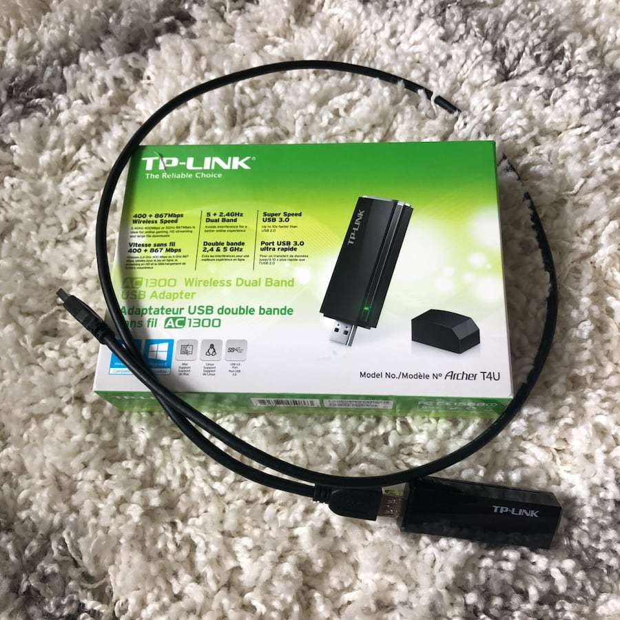 TP-LINK Wireless Dual Band USB Adapter
