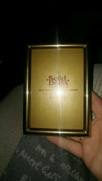 gold Solid Brass photo frame Montreal, H8T