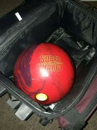 red and black bowling ball Anaheim, 92801