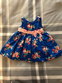 Sweet baby girl floral dress Naples