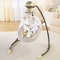 baby's white and gray cradle and swing Orlando, 32821