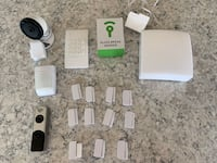 17 pc. FrontPoint Home Security System