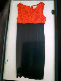 Red and black dress Vienna, 22180