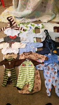 Baby cloths 0-3 months Lincoln, 68506