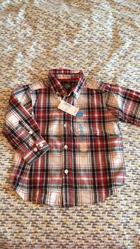 New baby boy Children's Place  shirt 24m Laval, H7K 0B6