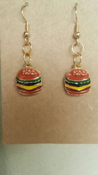 New handmade hamburger earrings Goodlettsville, 37072