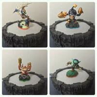 Skylanders  Figures & Portal of Power set 3731 km