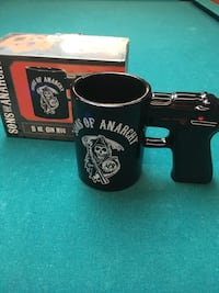 Collectible Sons of Anarchy mug Official licensed product Perfect to watch Mayans with Jersey City, 07310