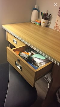 Awesome desk for small space