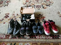 assorted pairs of shoes and sandals 48 mi