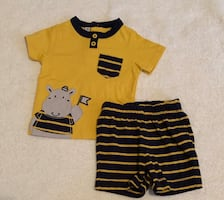 Baby boy shirt and shorts