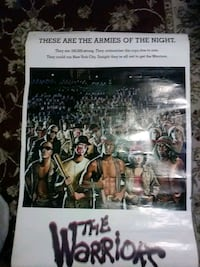 Poster of the warriors