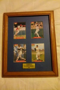two black wooden framed photo of baseball players Texas, 77339
