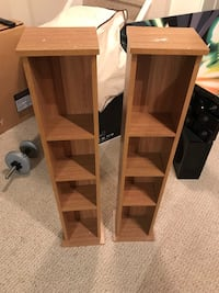2 CD/DVD racks. Aurora, L4G 7P8