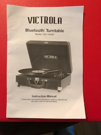 Victorola briefcase record player with Bluetooth Toronto, M3A 1R8