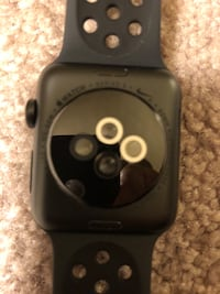 APPLE WATCH 3 SPACE GREY 42mm (USED ONLY ONCE) PERFECT CONDITION $250 OBO GPS & CELLULAR Ashton, 20861