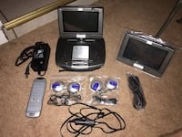 Portable DVD Player Dual screens Spring Hill, 34606