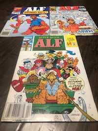 Marvel 'Alf' Comic Books - Lot of 3 different titles Brant, N0E 1R0