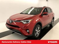 2016 *Toyota* *RAV4* XLE hatchback Red Los Angeles, 90012