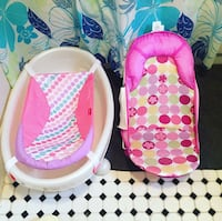 baby's pink and white bather Pickering, L1W 2T3