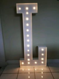 Marquee Letters With Lights For Rent Vaughan, L4L 1G2