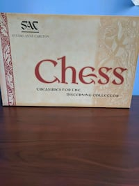 Collectors edition Anne Carlton chess set