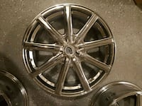 18In Pacer 789C Evolve Chrome Rims for Sale Joint Base Andrews