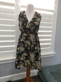 Floral print black dress. Small and new Coral Springs, 33076