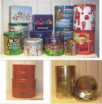 23 DECORATIVE TINS   Rockville