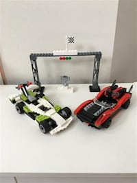 Lego Racers Wreckage Road #8898
