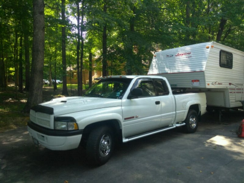 Dodge Ram 2500 And 24' 5th Wheel Camping Trailer 35a499f8-a06a-43d9-8046-336237843d5d