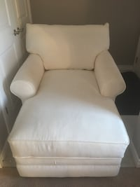 white leather sofa chair with ottoman 536 km