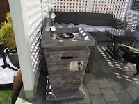Outdoor Propane Fireplace DELTA