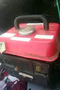 red and black portable generator San Francisco, 94109