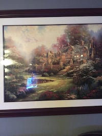 Castle near forest painting Columbia, 21044