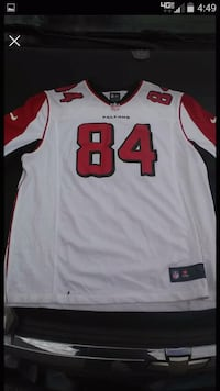 white and red NFL jersey Rossville, 30741