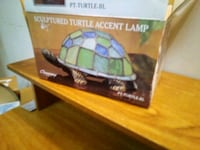 A metal turtle lamp Laconia, 03246