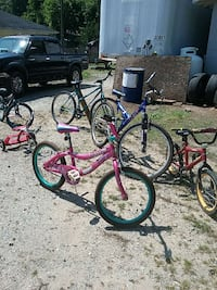 Several bicycles, $25 & up. Spartanburg, 29303