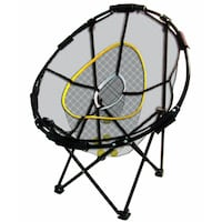 Golf collapsible chipping net