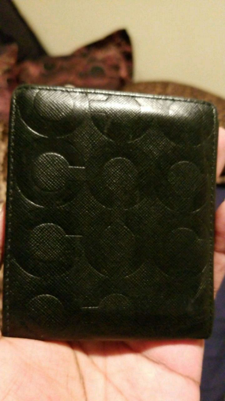 Photo Mens Coach wallet