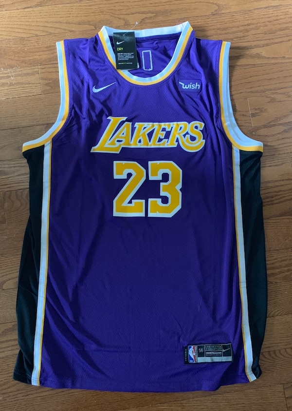 bb7d74892515 Used Nike Lebron James LA Lakers NBA Jersey for sale in Mississauga - letgo
