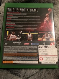 NBA  2k17 for Xbox One Fitchburg, 01420