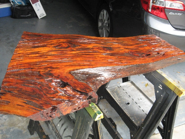 Pecky Cypress Coffee Table Top