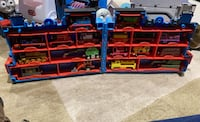 Thomas The Tank Engine 17 Die-cast Trains with 4 Carrying Cases Norwalk, 06851