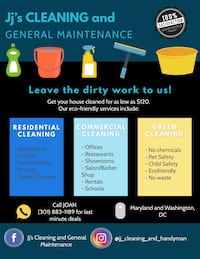 House cleaning Bethesda