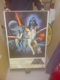 Star Wars A New Hope poster Oakville