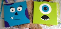 Monsters Inc. painting on canvas Milton