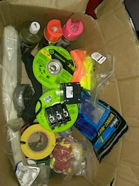Misc.electrical supplies and equipment