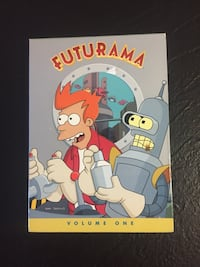 Futurama Volume One DVDs